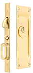 Emtek Mortise Keyed Pocket Door Lock