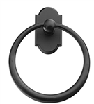 Emtek Sandcast Bronze Towel Ring