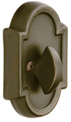 Emtek Cast Bronze Single Sided Deadbolt