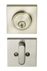 BHP Low Profile Square Single Cylinder Deadbolt