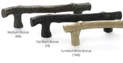 Cabinet And Drawer Pull 3 Finishes Available