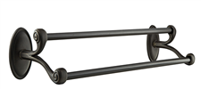 Emtek Bronze Double Towel Bar