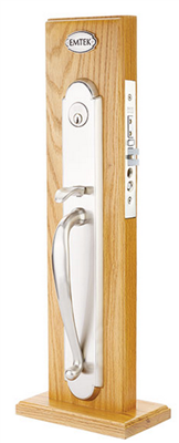 Emtek Albany Full Length Mortise, Dummy