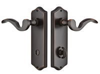 Emtek Thumbturn Colonial Plate Lock