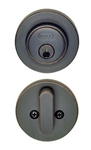 BHP Low Profile Round Single Cylinder Deadbolt